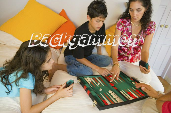 NewCentCo Board Games - Backgammon Logo
