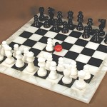 Alabaster Chess Set - MF1BK