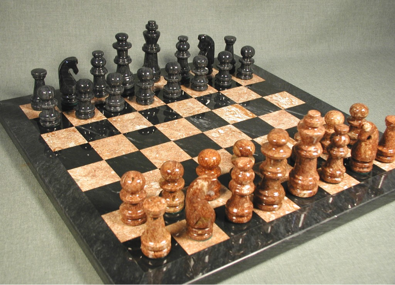 Marble Chess Set - 96016BT