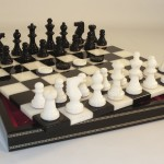 Alabaster Chess Set - NS141BK
