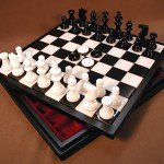 Alabaster Chess Set - NS34BK
