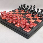 Alabaster Chess Set - NS34RB