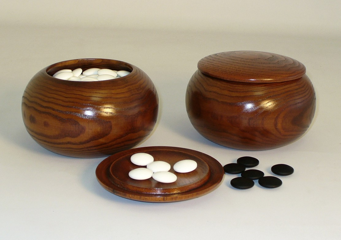 8mm Stones with Wood Bowls - 22808K-06