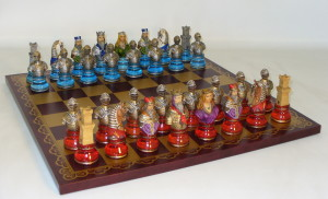 Camelot Busts Chess Set