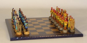 Sorcerer Chess Set